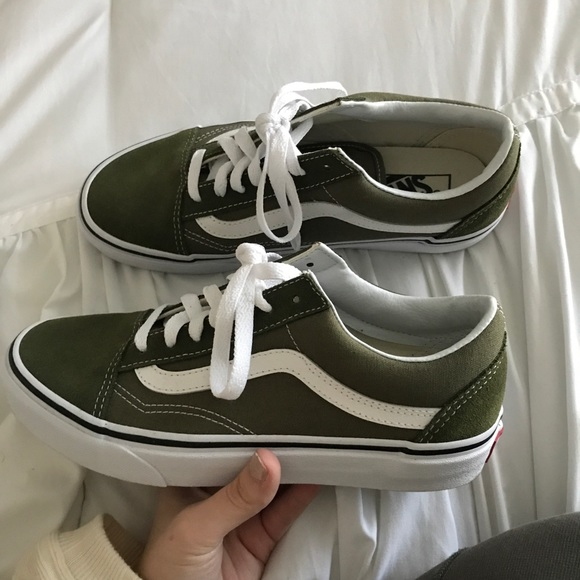 Vans Shoes | Olive Green Vans Size 75